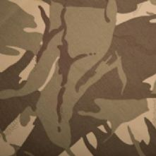 Desert Camouflage Cotton Drill Fabric